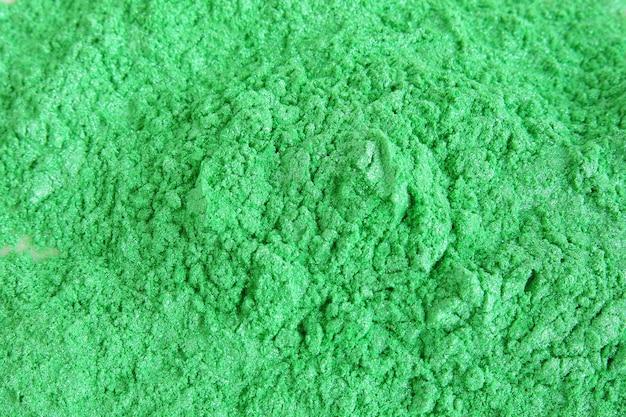 Grünes glimmerpigmentpulver für kosmetika