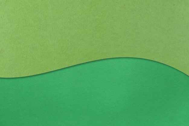 Grünes kunstdruckpapier mit schichten