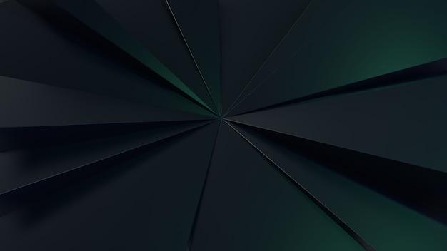 Grünes licht kristall hintergrund oder tapete