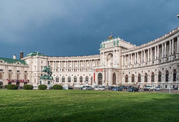 Grünes park monument-wiens österreich