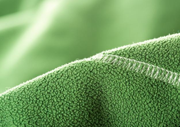 Grünes weiches synthetisches vlies