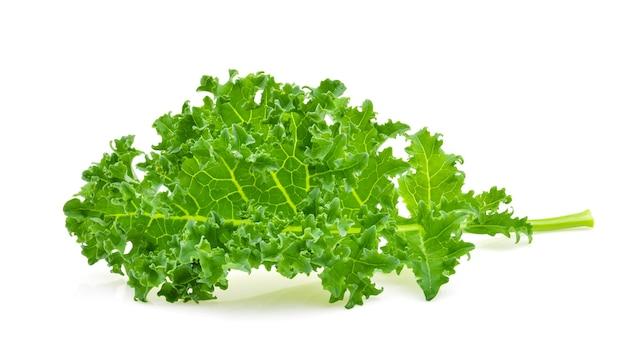 Grünkohl blattsalat gemüse isoliert