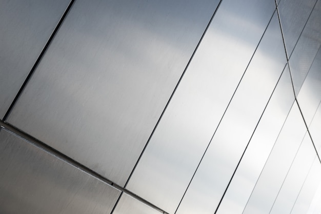 Grundriss der grauen rechteckigen fliese auf wandhintergrund, nahaufnahme.