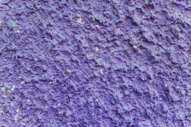 Grunge farbtextur, blaue und rote farbe, alte zerkratzte oberfläche.