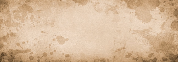 Grunge hintergrund banner braunes papier