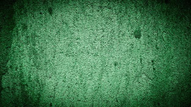 Grunge hintergrund der grünen wand farbigen abstrakten hintergrund