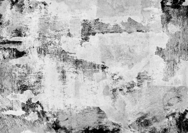 Grunge ink texture black and white rissige alte oberfläche