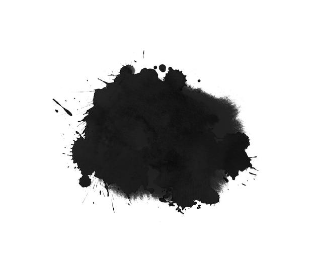Grunge künstlerische aquarellform. tropfen, spritzer, tintenstriche