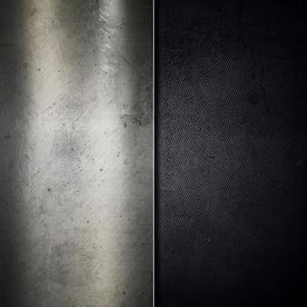 Grunge löschte metallhintergrund