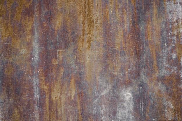 Grunge metallhintergrund mit kratzern und sprüngen. rost textur