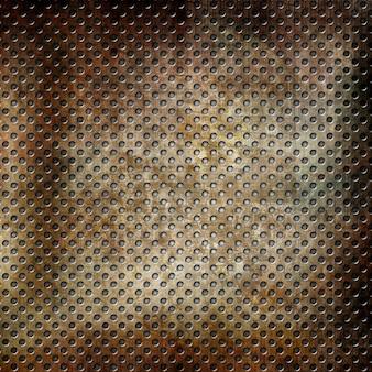 Grunge metallischer hintergrund mit flecken und kratzern