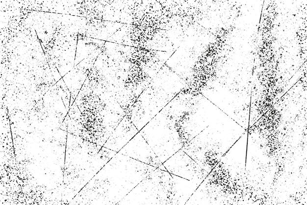 Grunge schwarz-weiß-muster monochrome partikel abstrakte textur