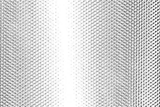Grunge schwarz-weiß-not. halbtonlinie grunge-textur.