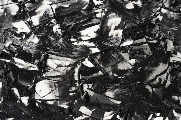 Grunge schwarz-weiß pinselstrich hintergrund