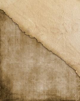 Grunge-stil papier textur hintergrund mit flecken und falten