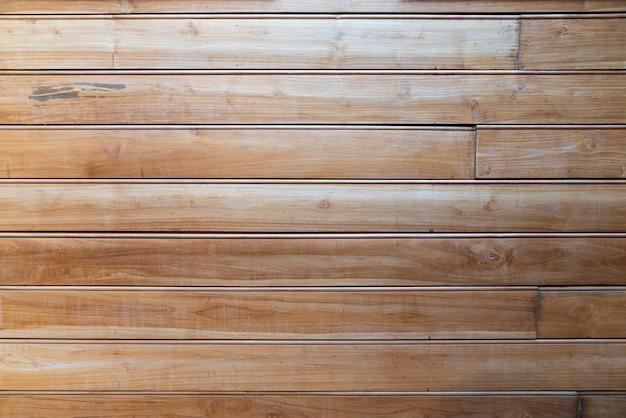 Grunge teakholz holzplanken textur in streifenlinie mit natürlicher maserung