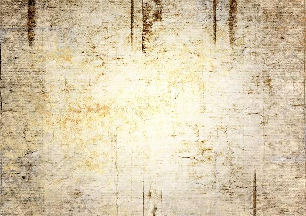 Grunge vintage abstrakte textur hintergrund. aquarell handgezeichnetes altes muster mit platz für text. aquarell grau gelb beige farben illustration. kunst rauer urbaner, schmutziger stil.