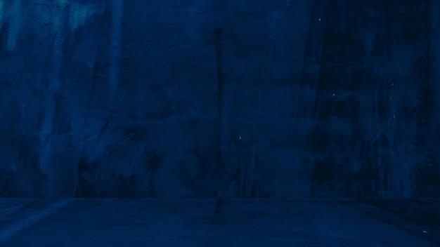 Grungy blauer hintergrund aus natürlichem zement oder alter steinstruktur als retro-musterwand konzeptionelle wand ...