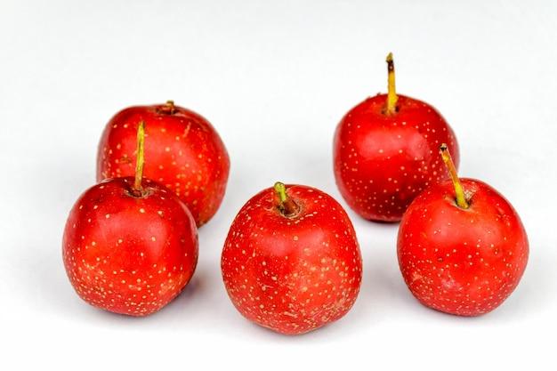 Gruppe von äpfeln