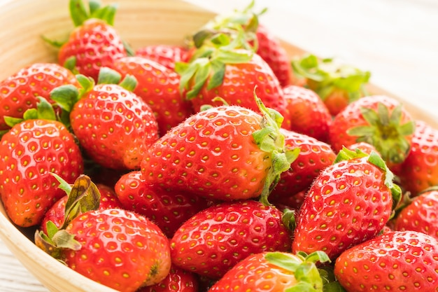 Gruppe von erdbeer- oder erdbeerfrüchten