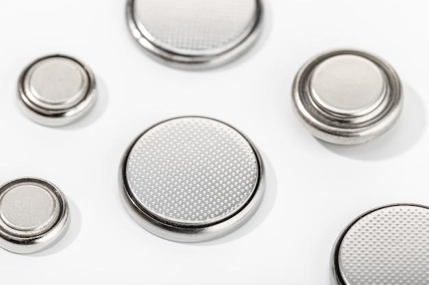 Gruppe von knopfzellenbatterien