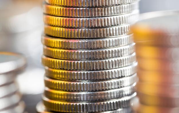 Gruppe von münzen