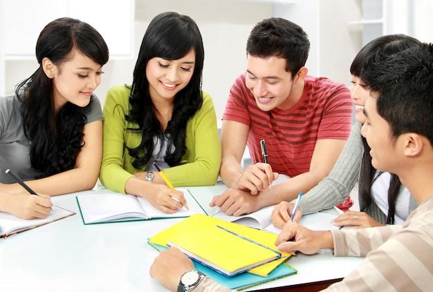 Gruppe von studenten