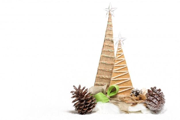 Grußkarte der frohen weihnachten auf weiß lokalisiert