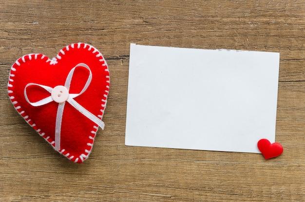 Grußkarte zum valentinstag