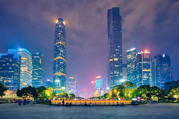 Guangzhou blumenstadtplatz, china