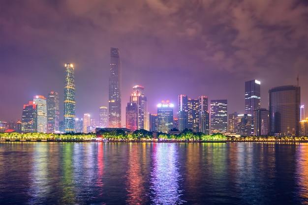 Guangzhou-skyline. guangzhou, china