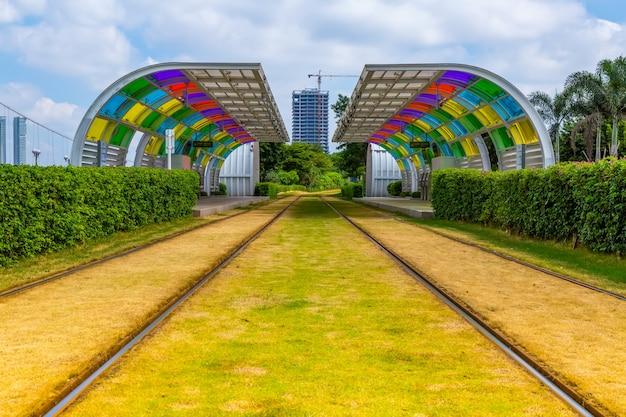 Guangzhou stadt ampel u-bahn