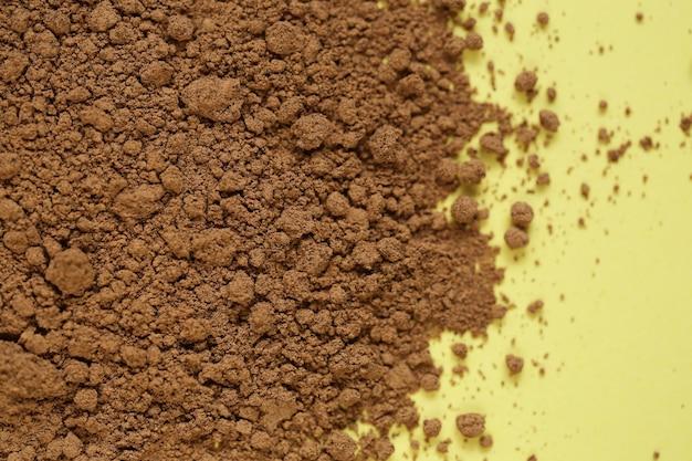 Guarana-pulver. super essen. nützliches produkt.