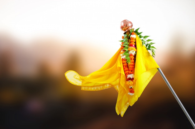 Gudi padwa marathi neujahr, indian festival