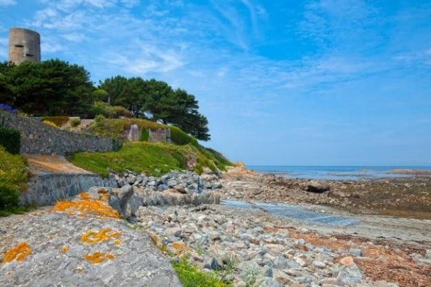 Guernsey landschaften hdr