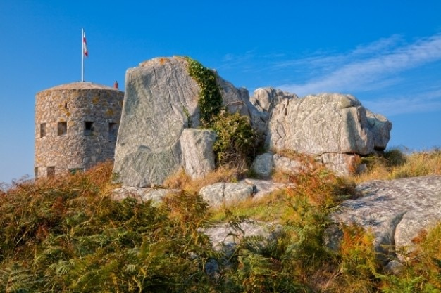 Guernsey turm hdr