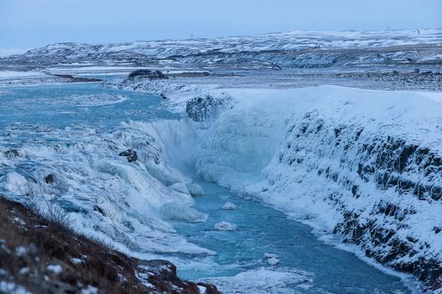 Gullfoss, island - 01022018 gullfoss ist einer der schönsten wasserfälle islands.