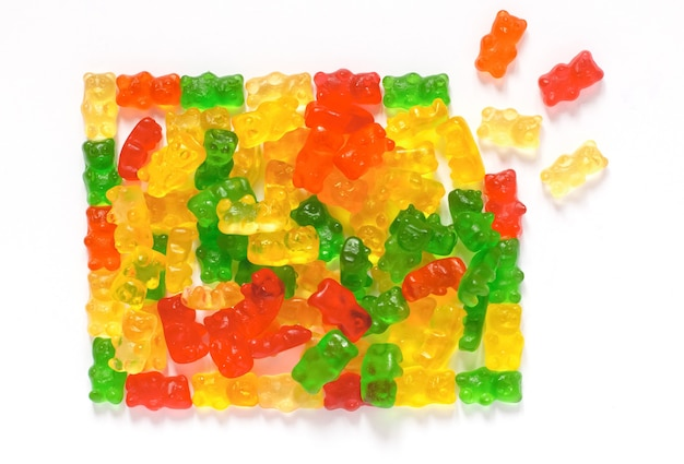 Gummies für kinder kleinkinder lecker mehrfarbig bärenförmig