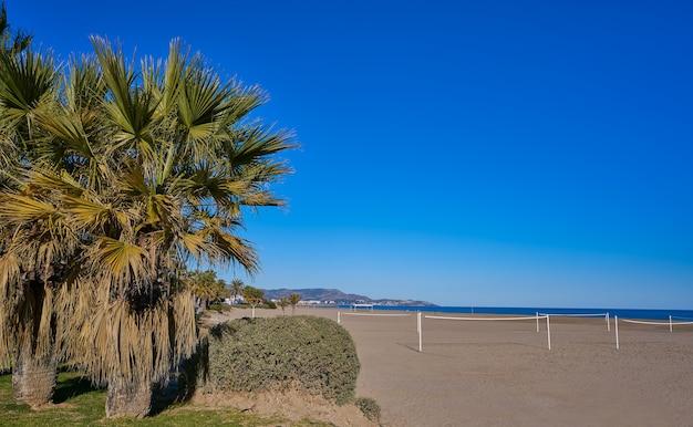 Gurugu-strand in grao de castellon spain