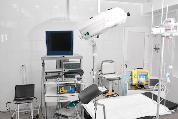 Gynäkologisches zimmer im krankenhaus