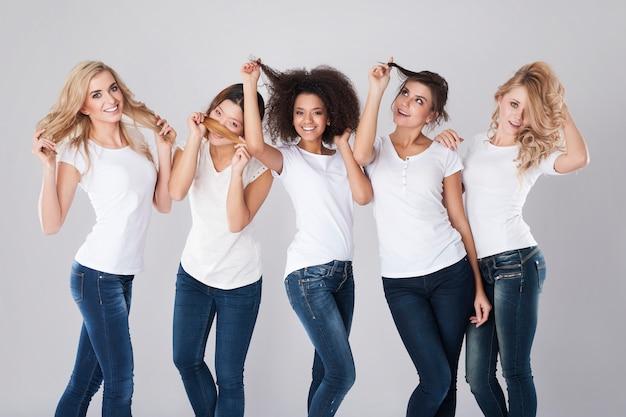 Haarpflege aller haartypen Kostenlose Fotos