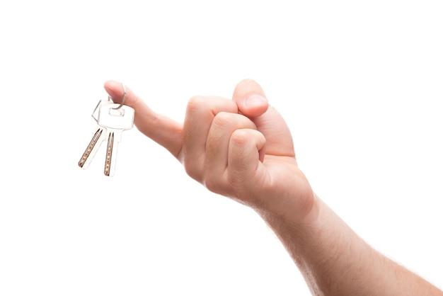 Hängende schlüssel