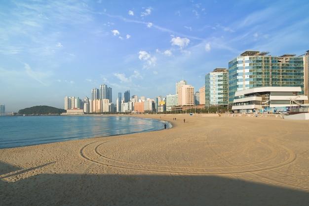 Haeundae strand ist busans beliebtester strand