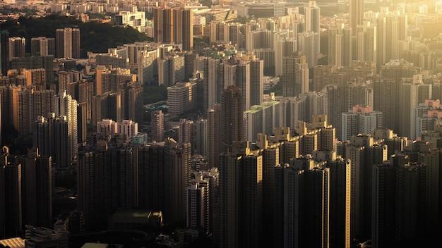 Häuser in hong kong das gebäude besteht aus dem hauptgebäude