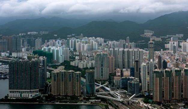 Häuser in hong kong.