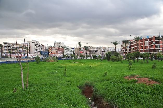 Häuser in tripolis stadt des libanon, naher osten
