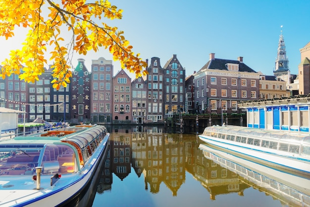 Häuser von amsterdam, niederlande