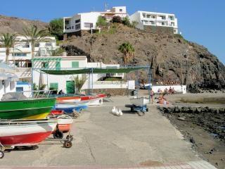 Hafen in fuerteventura kanarische inseln