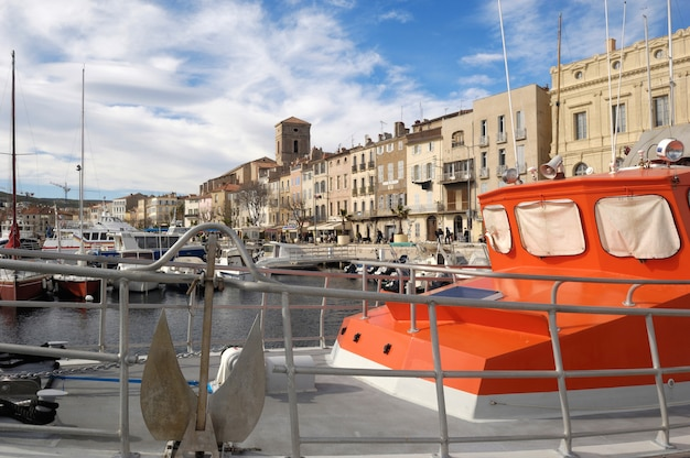 Hafen von la ciotat, französisch ribiera, frankreich