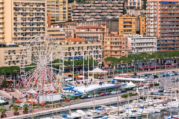 Hafen von monaco, monte carlo, ansicht